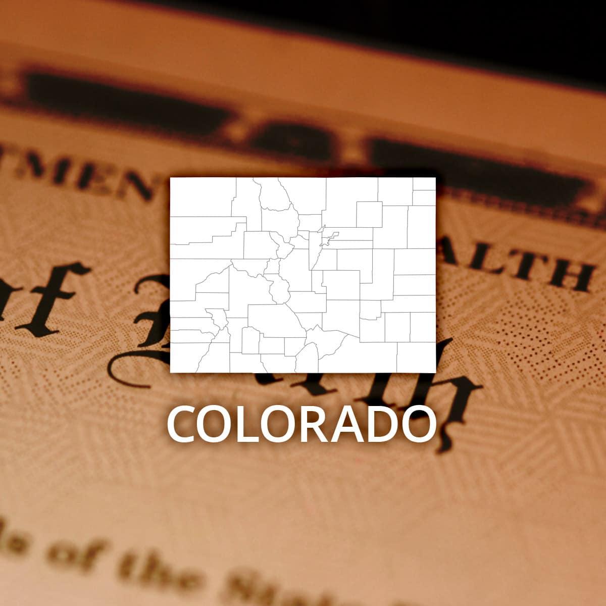 Where To Obtain A Colorado Birth Certificate