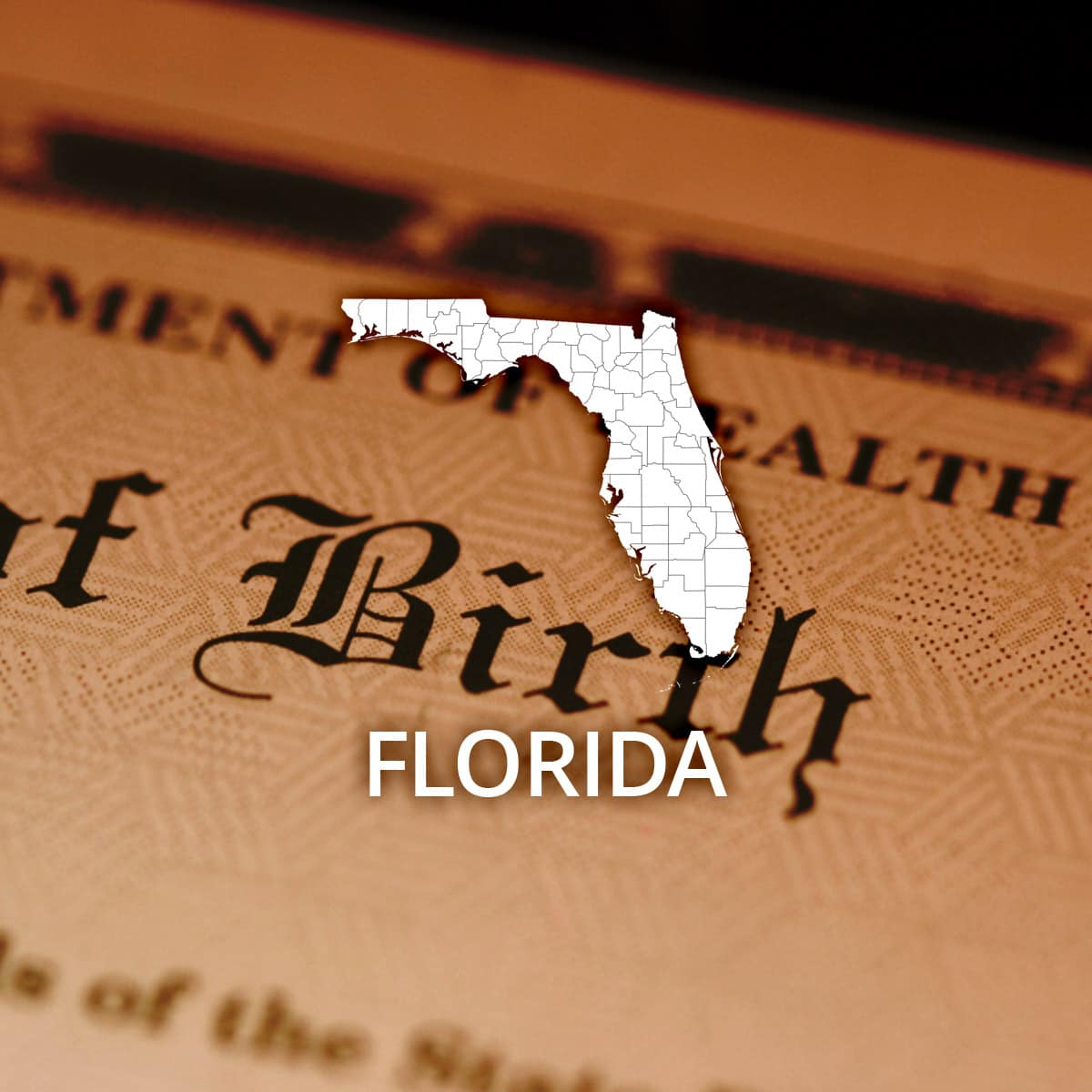 Where to Obtain a Florida Birth Certificate
