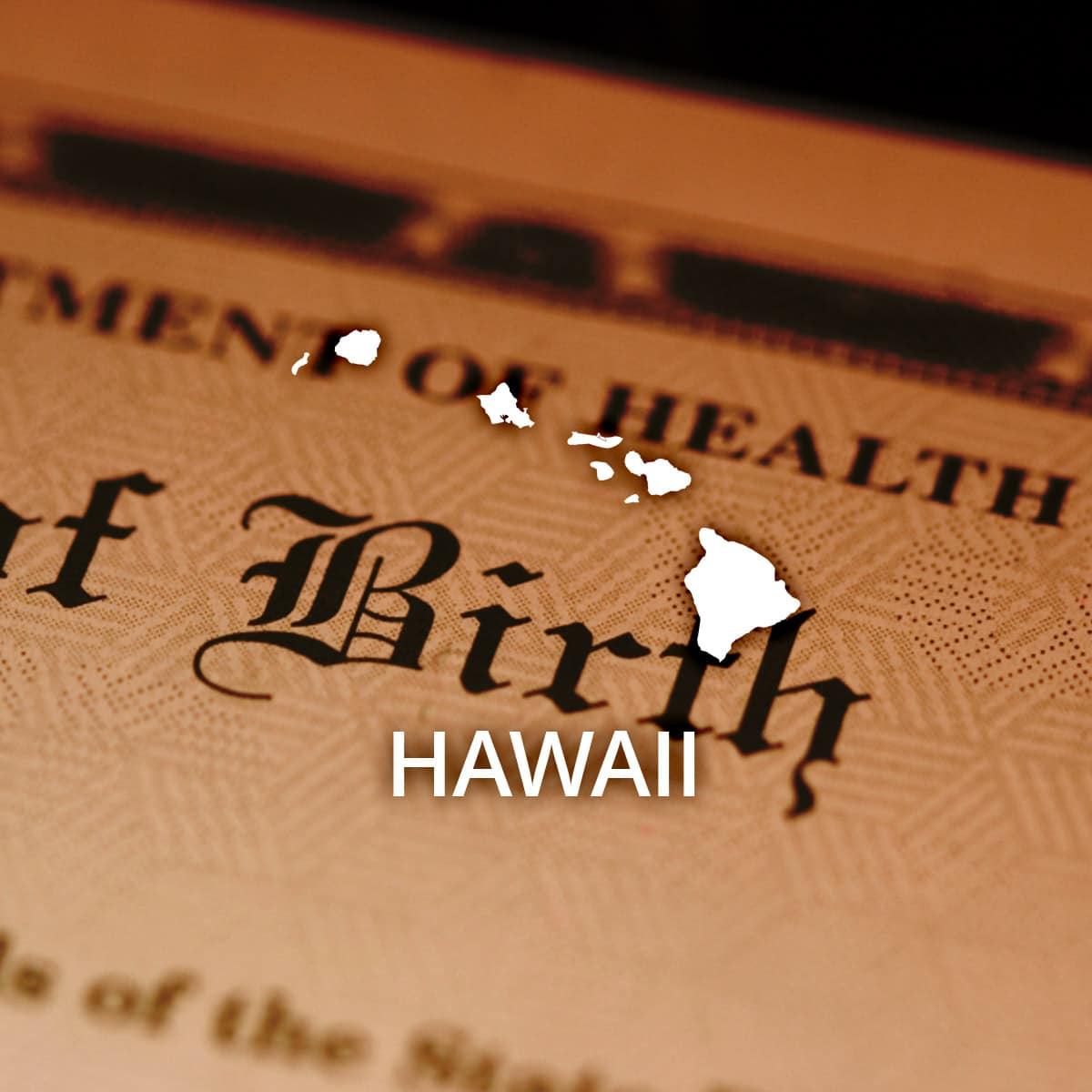 Where to Obtain a Hawaii Birth Certificate