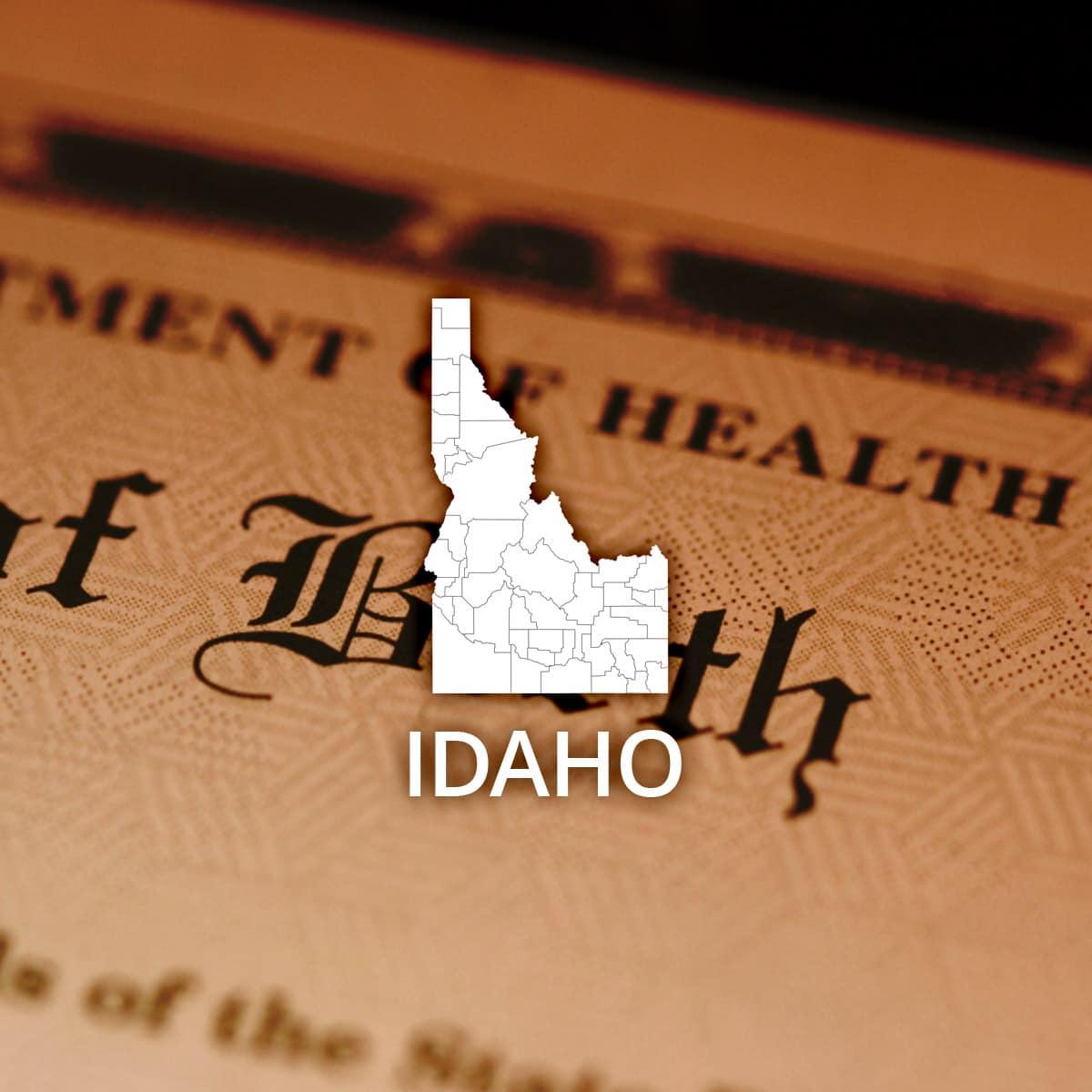 Where to Obtain a Idaho Birth Certificate
