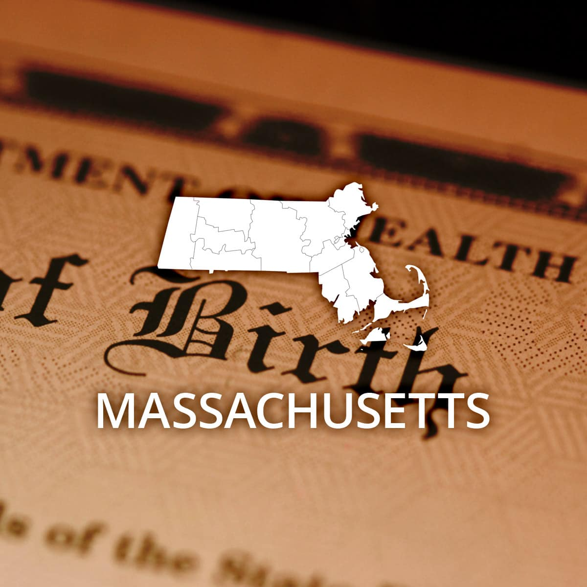 Where to Obtain a Massachusetts Birth Certificate