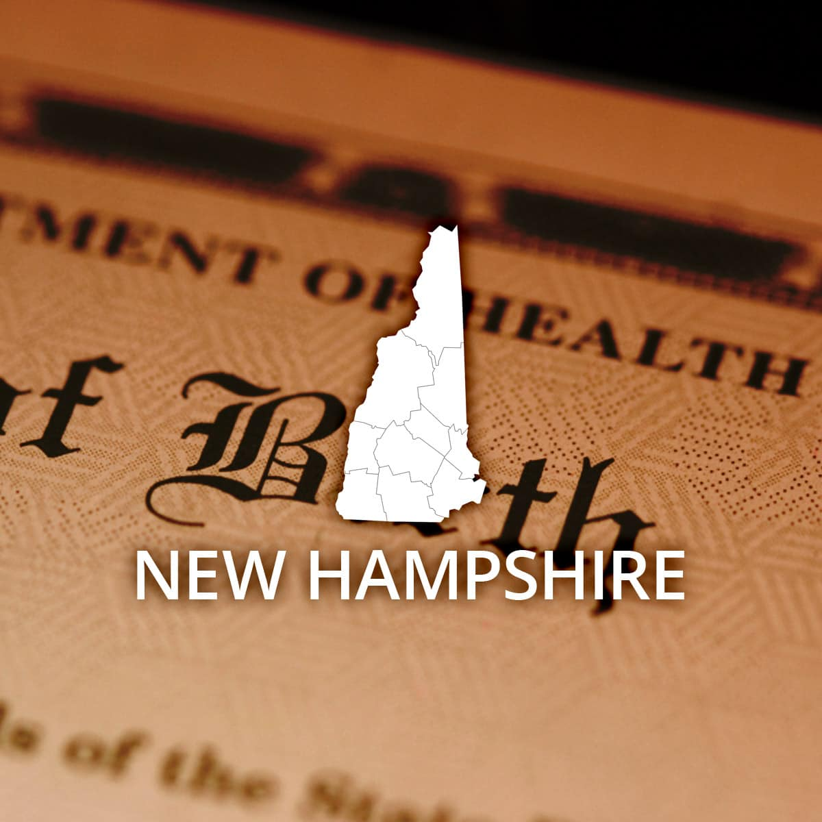 Where to Obtain a New Hampshire Birth Certificate