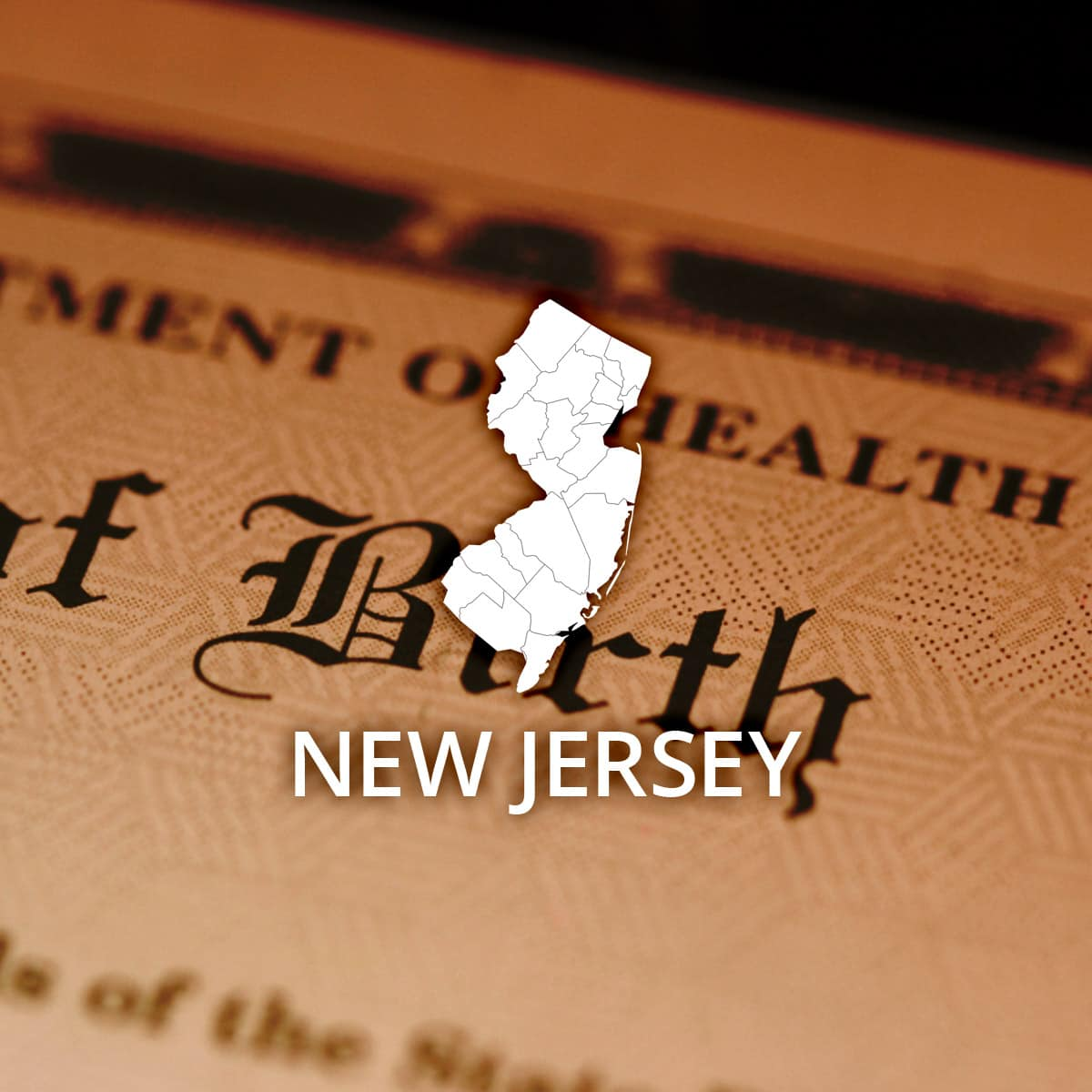 Where to Obtain a New Jersey Birth Certificate