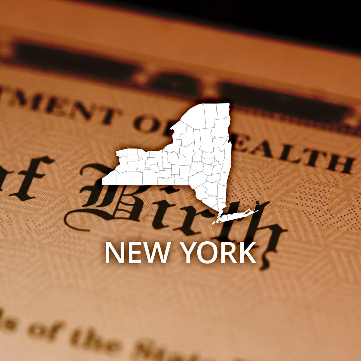 Where to Obtain a New York Birth Certificate