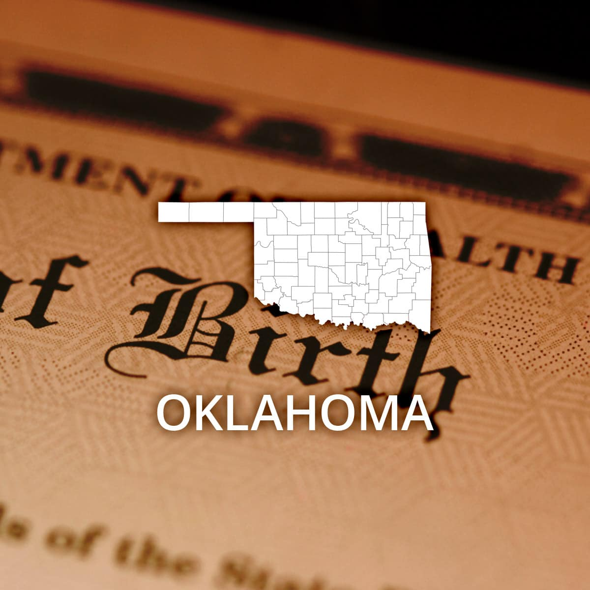 Where to Obtain an Oklahoma Birth Certificate
