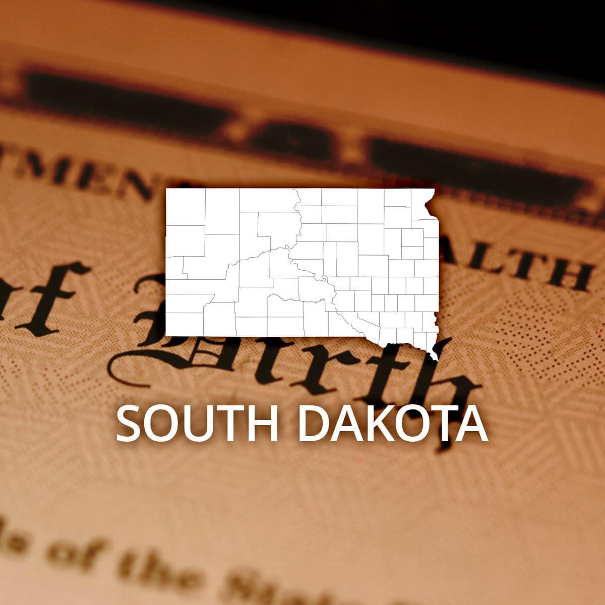 Where to Obtain a South Dakota Birth Certificate