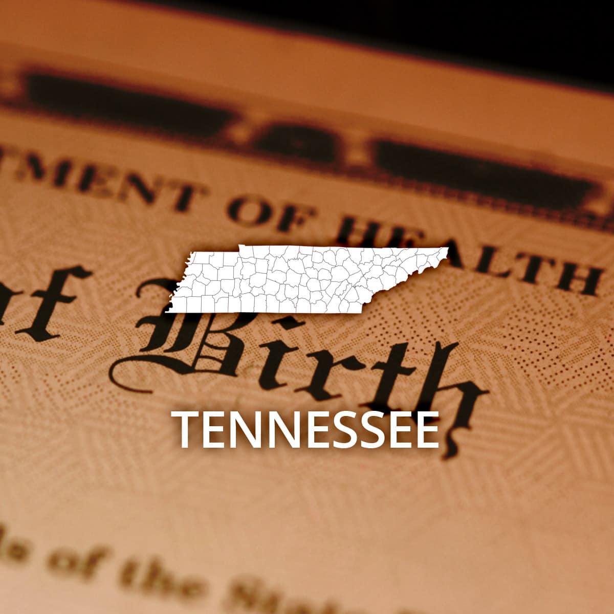 Tennessee Public Birth Records Search Online Recordsfinder
