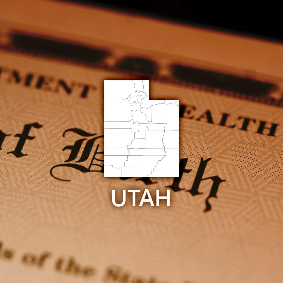 Where to Obtain a Utah Birth Certificate