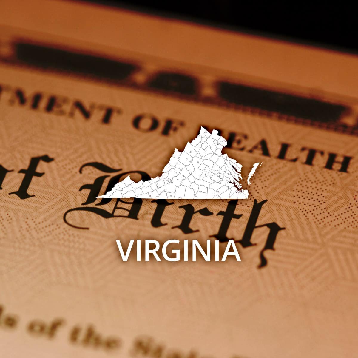Where To Obtain A Virginia Birth Certificate