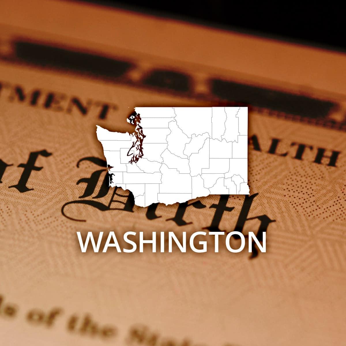 Where to Obtain a Washington Birth Certificate