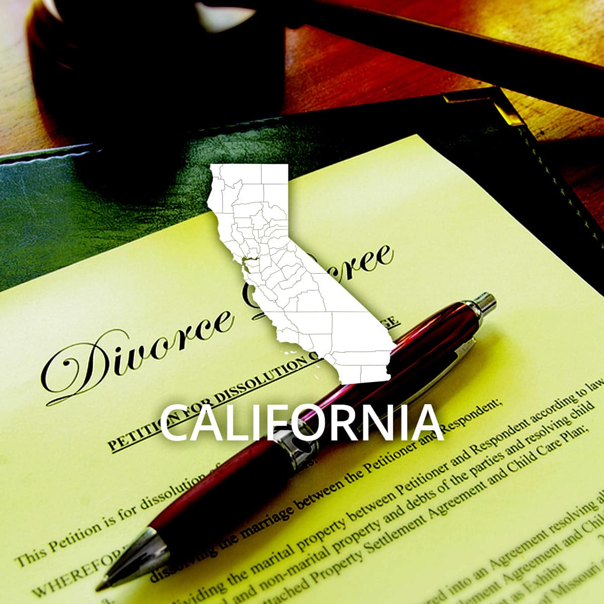 Where to Obtain a California Divorce Certificate