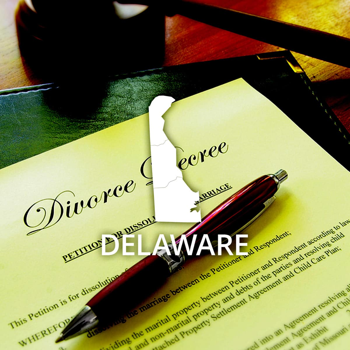 Where to Obtain a Delaware Divorce Certificate