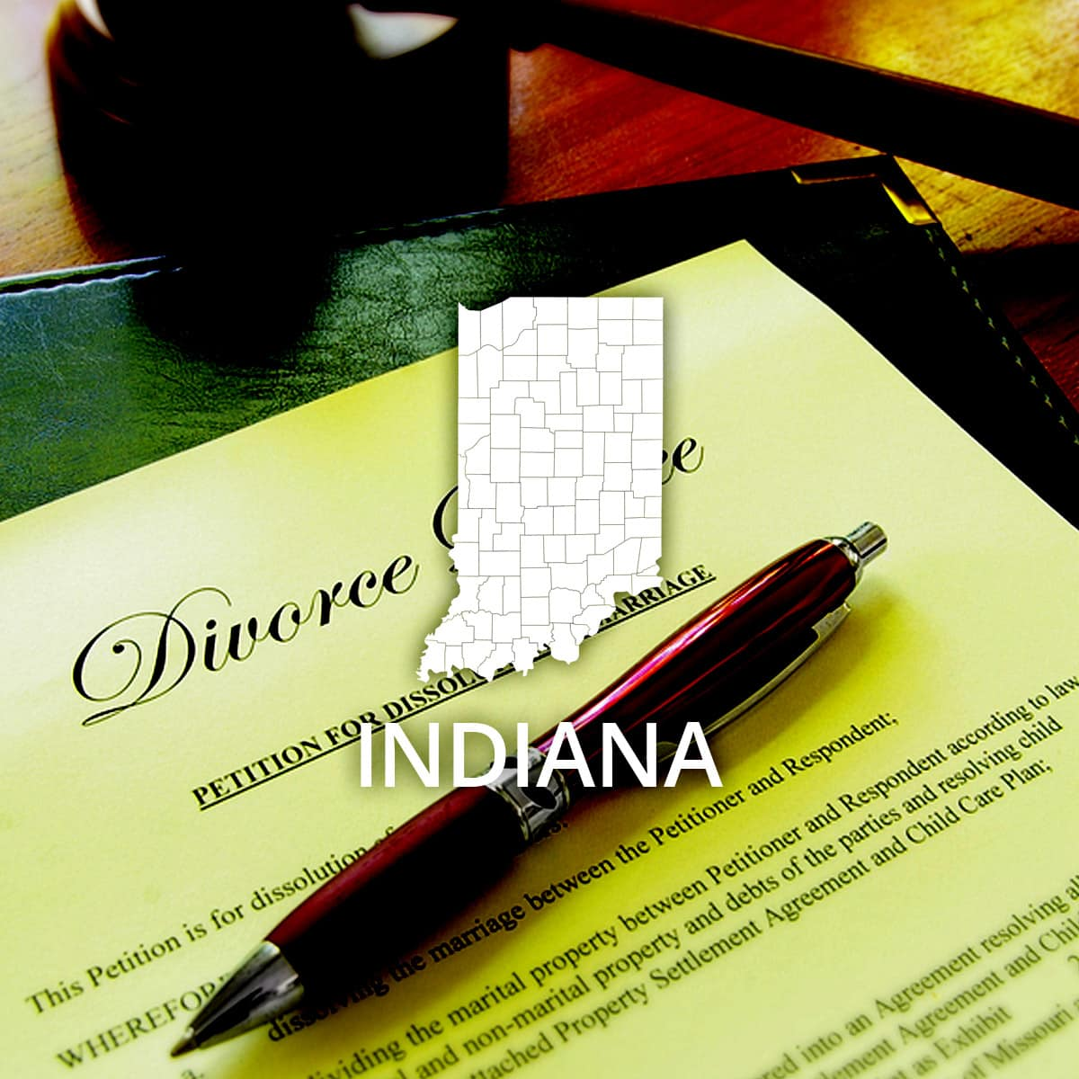 Where to Obtain an Indiana Divorce Certificate