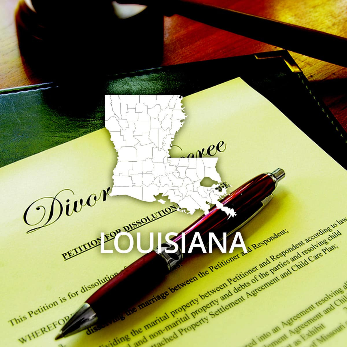 Where to Obtain a Louisiana Divorce Certificate