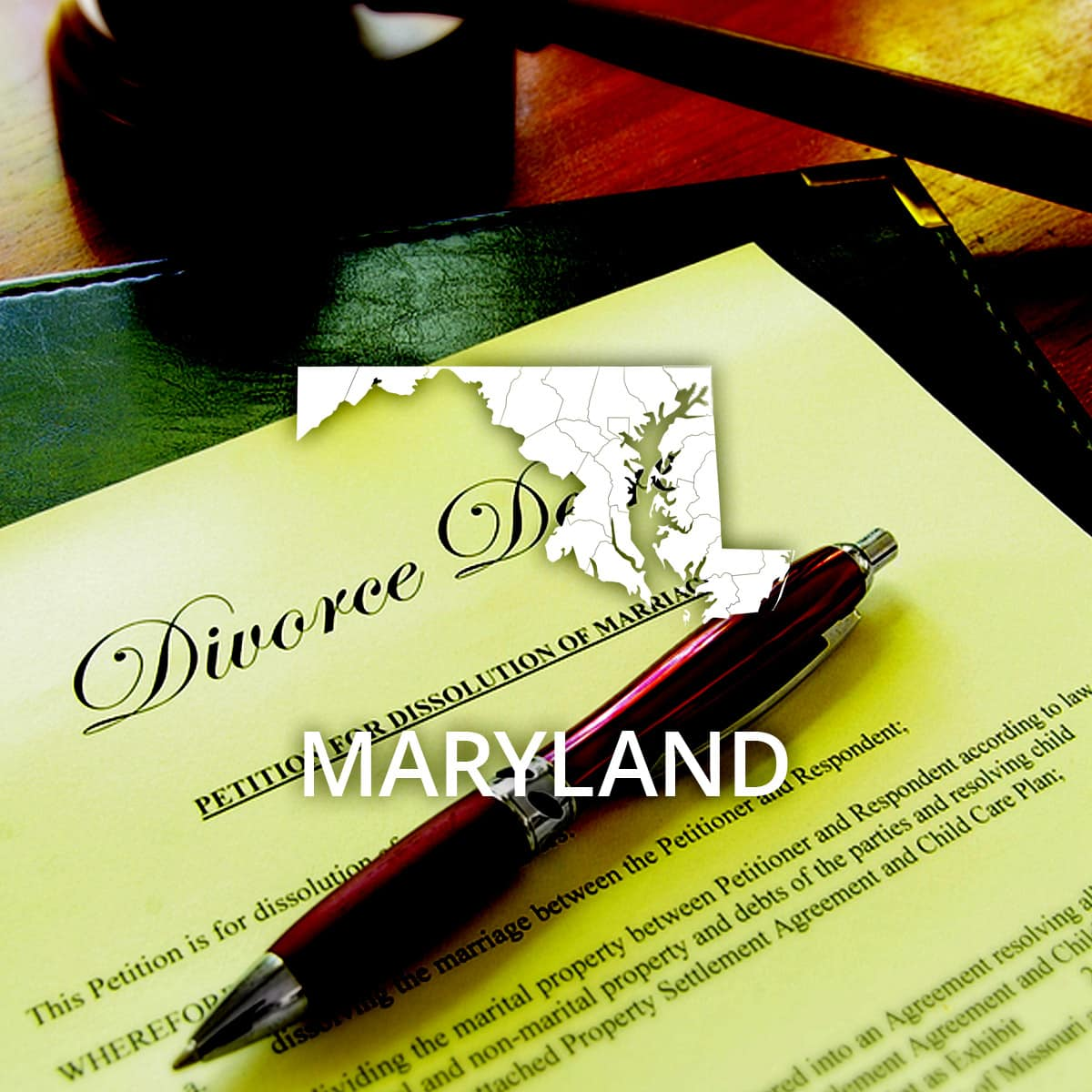 Where to Obtain a Maryland Divorce Certificate