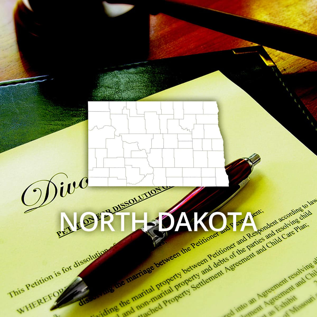 Where to Obtain a North Dakota Divorce Certificate