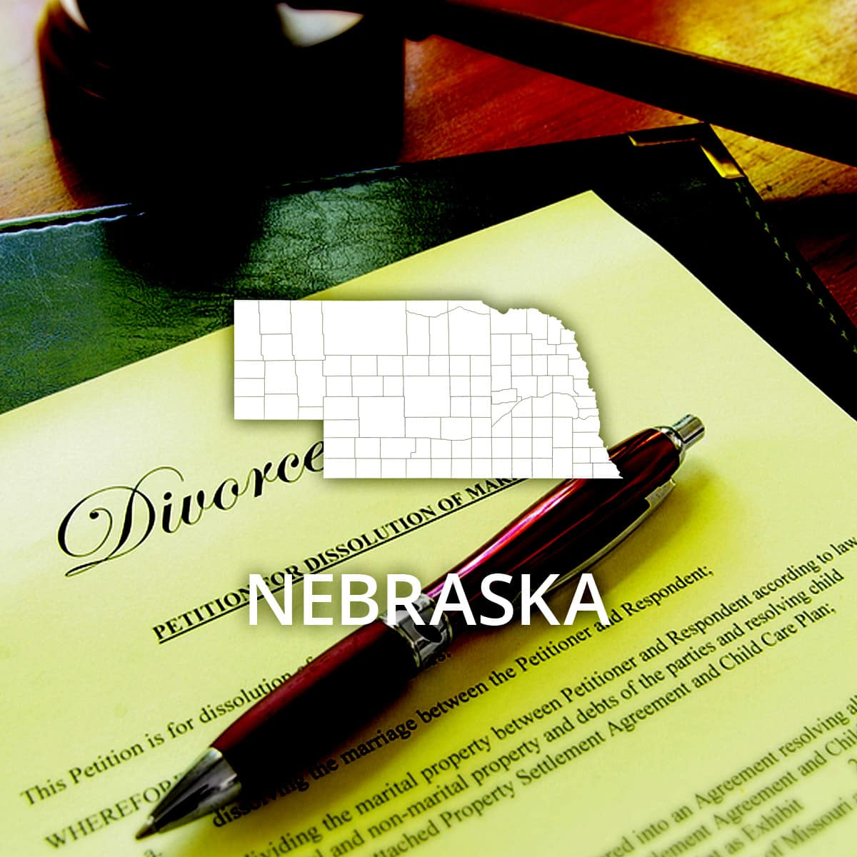Where to Obtain a Nebraska Divorce Certificate