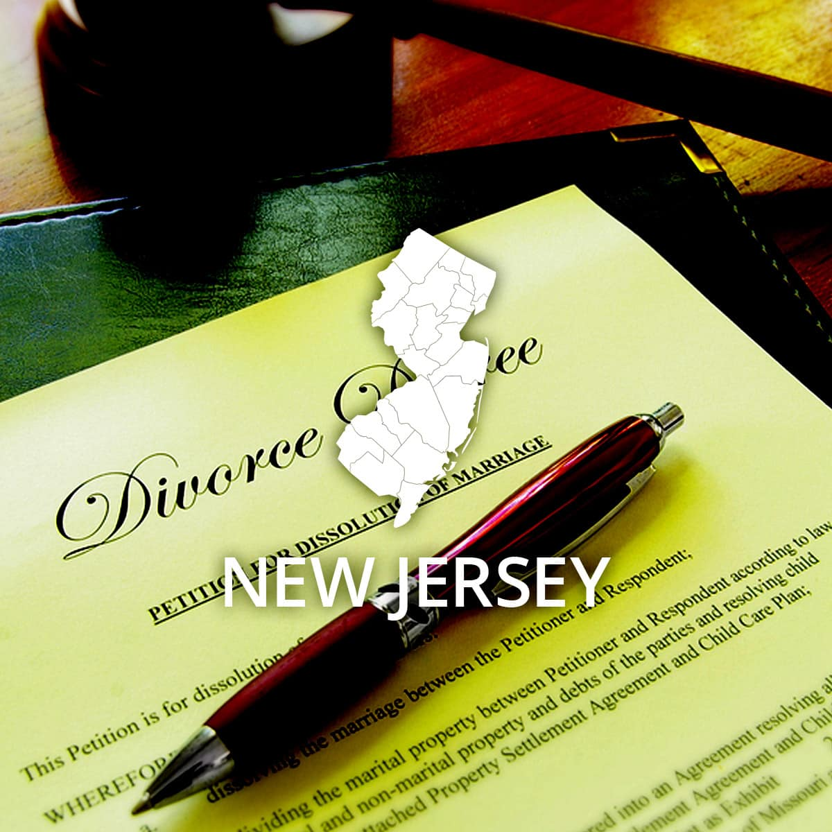 Where to Obtain a New Jersey Divorce Certificate