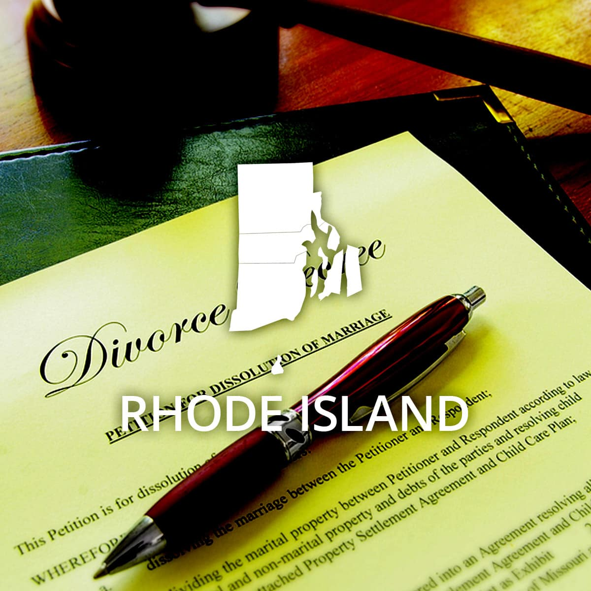 Where to Obtain a Rhode Island Divorce Certificate