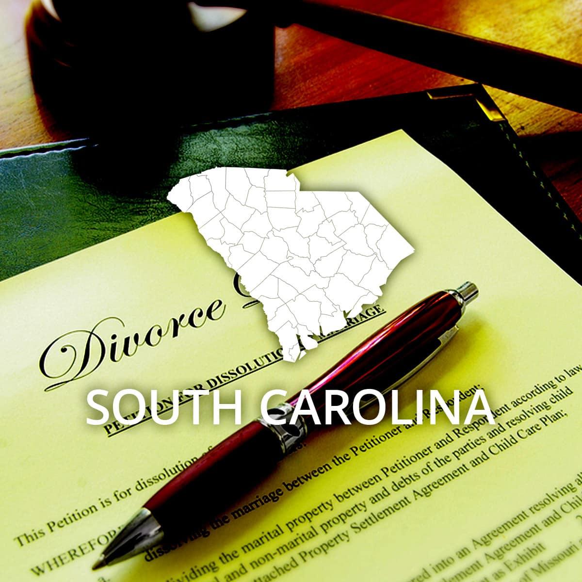 Where to Obtain a South Carolina Divorce Certificate