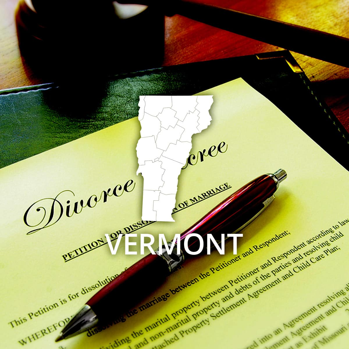 Where to Obtain a Vermont Divorce Certificate