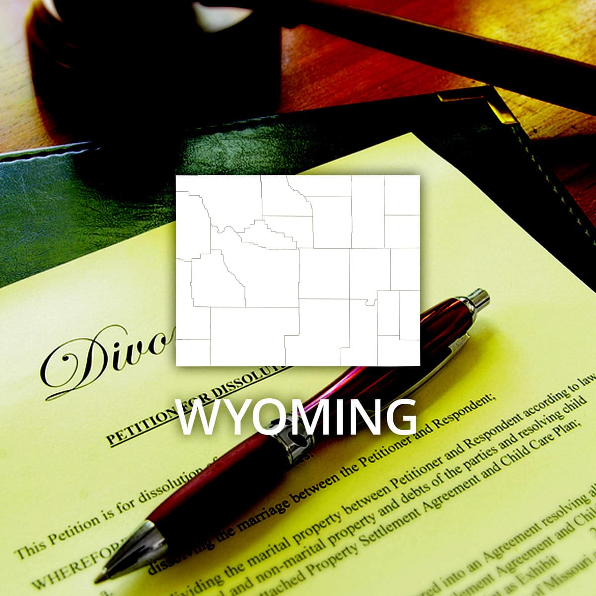 Where to Obtain a Wyoming Divorce Certificate