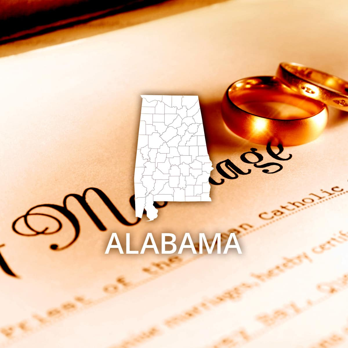 Where to Obtain an Alabama Marriage Certificate