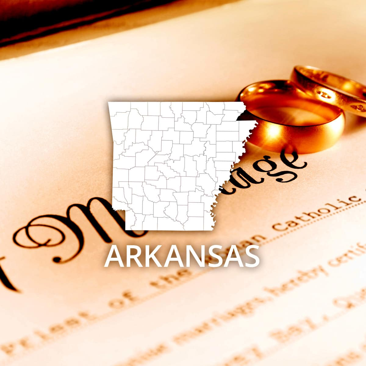 Where to Obtain an Arkansas Marriage Certificate