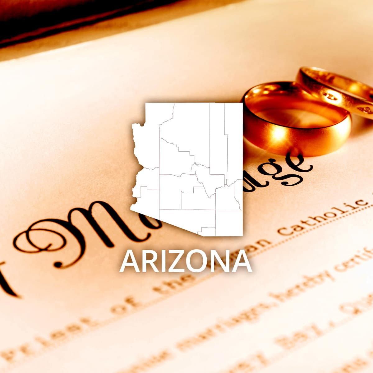 Where to Obtain an Arizona Marriage Certificate