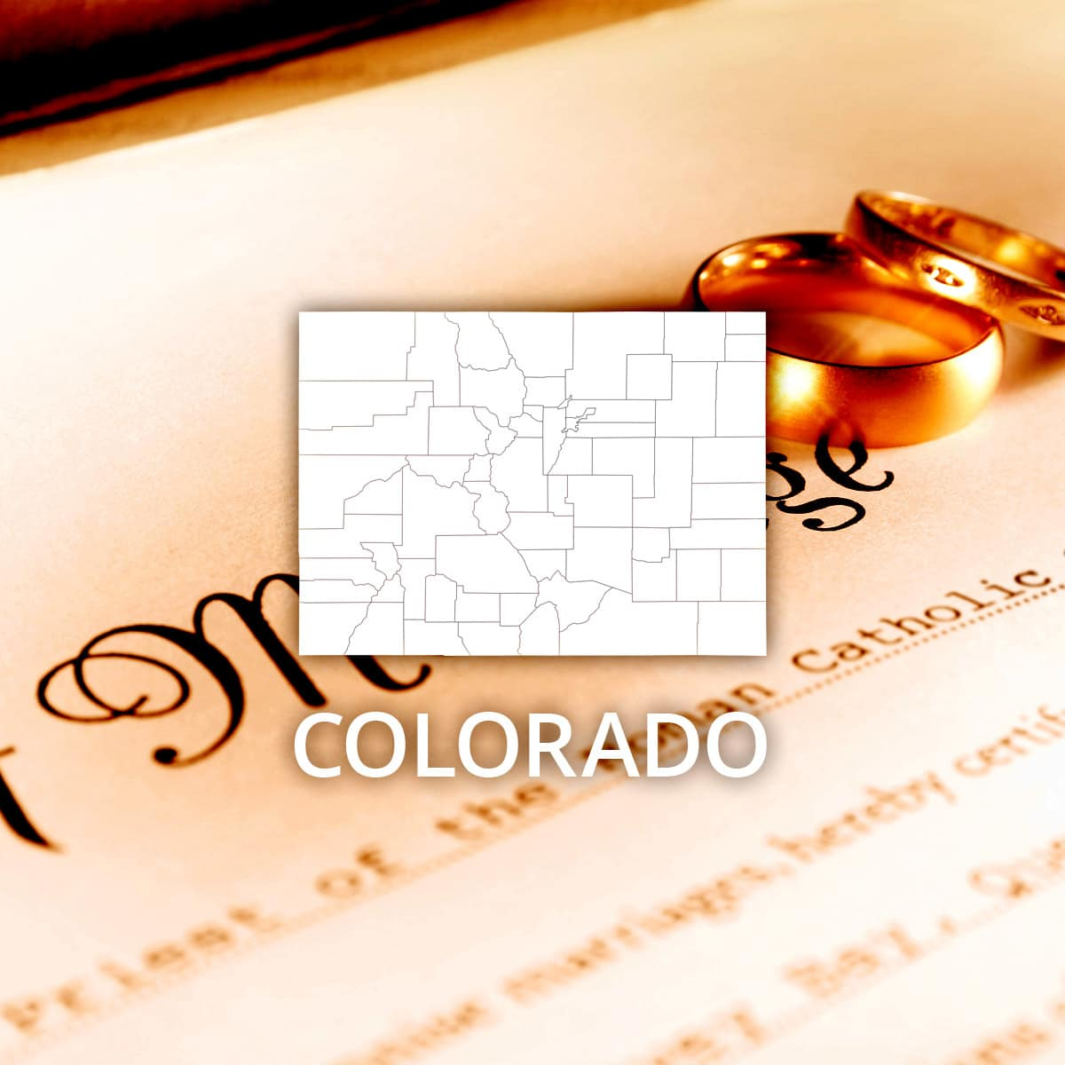Where to Obtain a Colorado Marriage Certificate