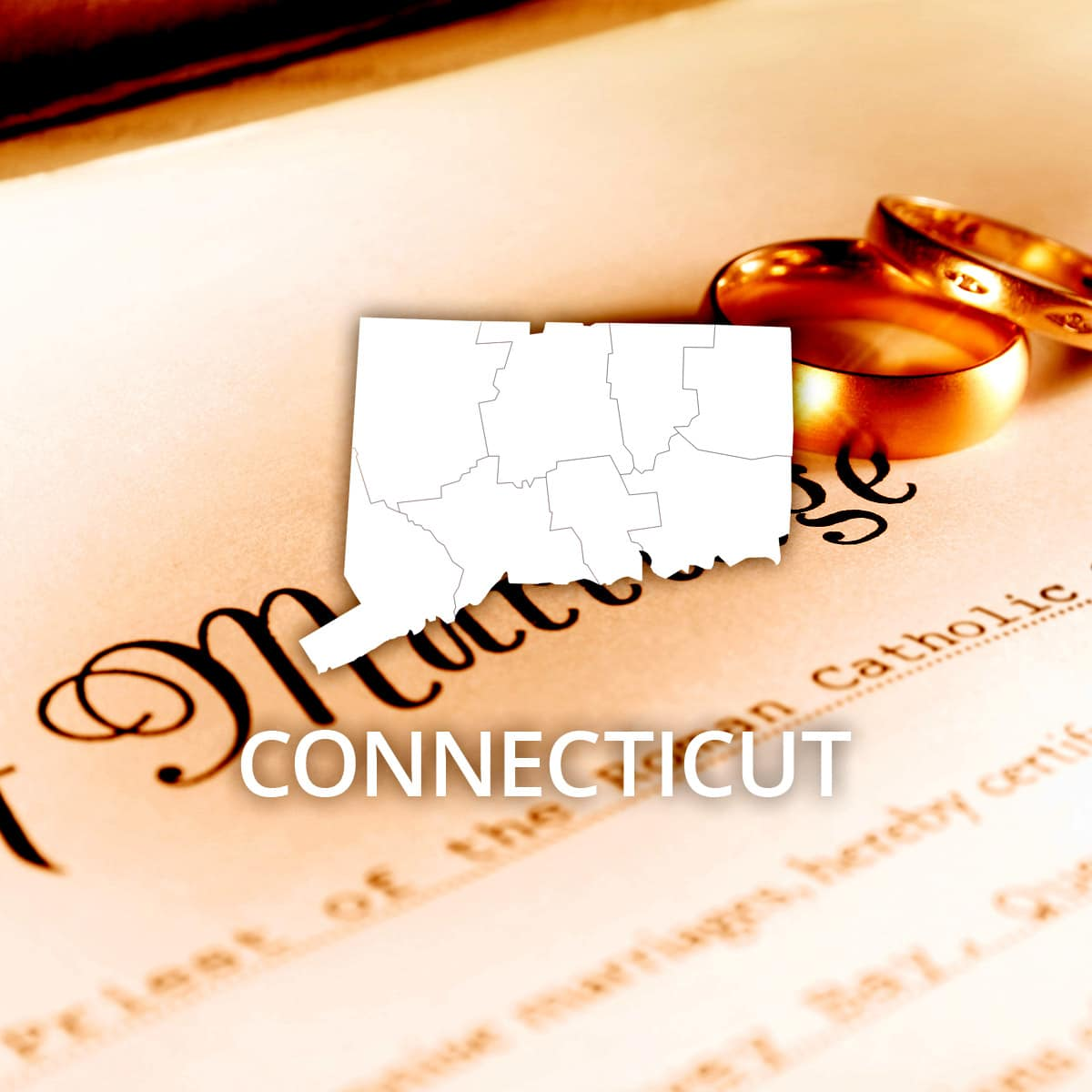Where to Obtain a Connecticut Marriage Certificate