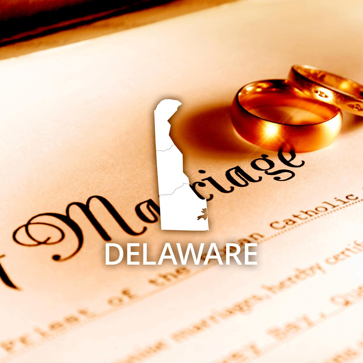 Where to Obtain a Delaware Marriage Certificate