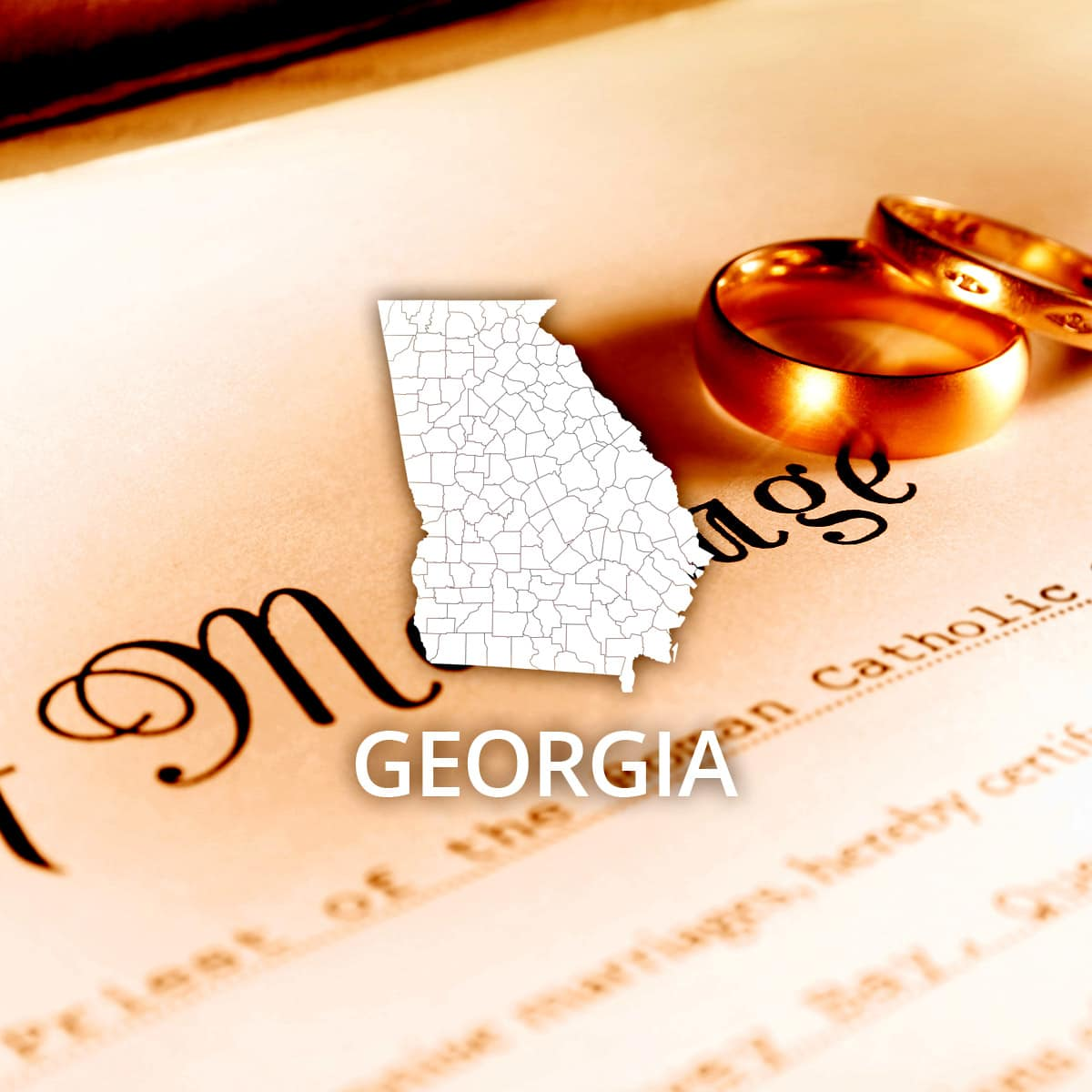Where to Obtain a Georgia Marriage Certificate