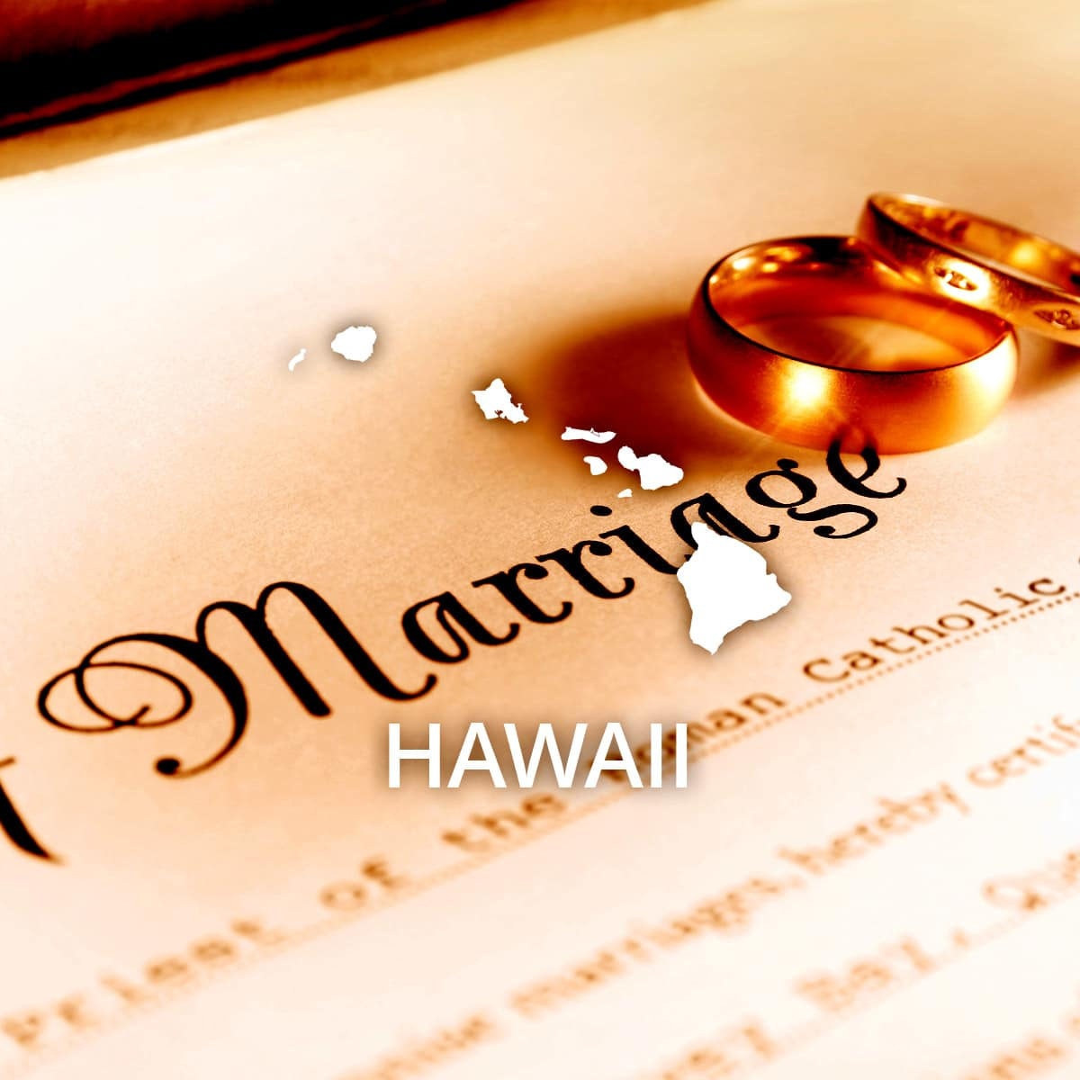 Where to Obtain a Hawaii Marriage Certificate