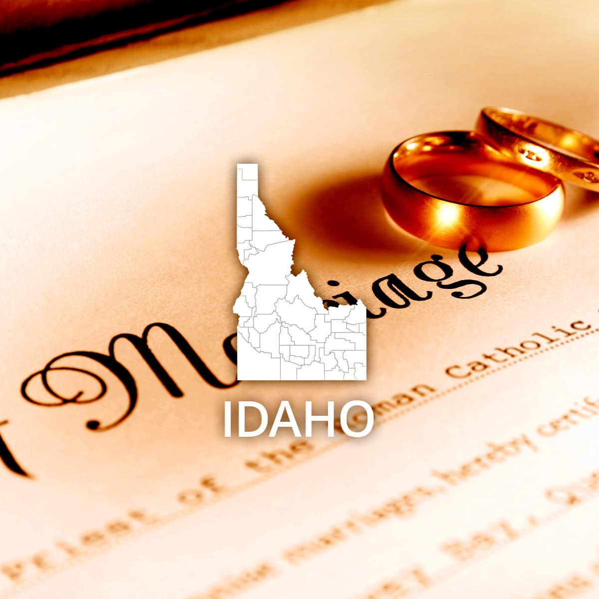 Where to Obtain a Idaho Marriage Certificate