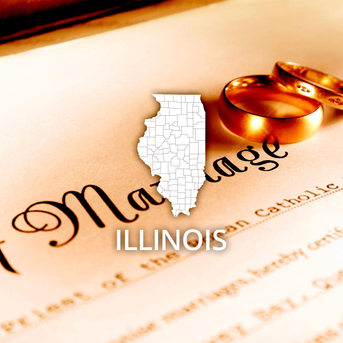 Where to Obtain a Illinois Marriage Certificate