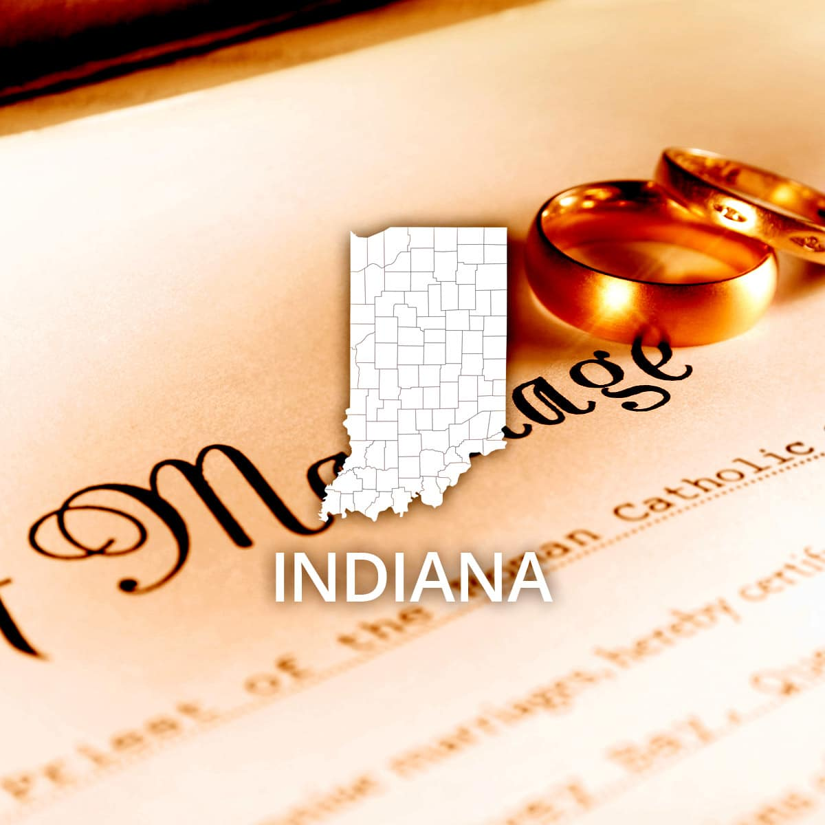Where to Obtain a Indiana Marriage Certificate