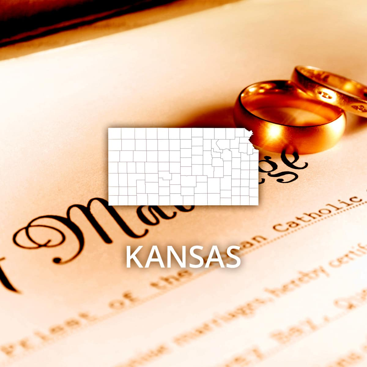 Where to Obtain a Kansas Marriage Certificate