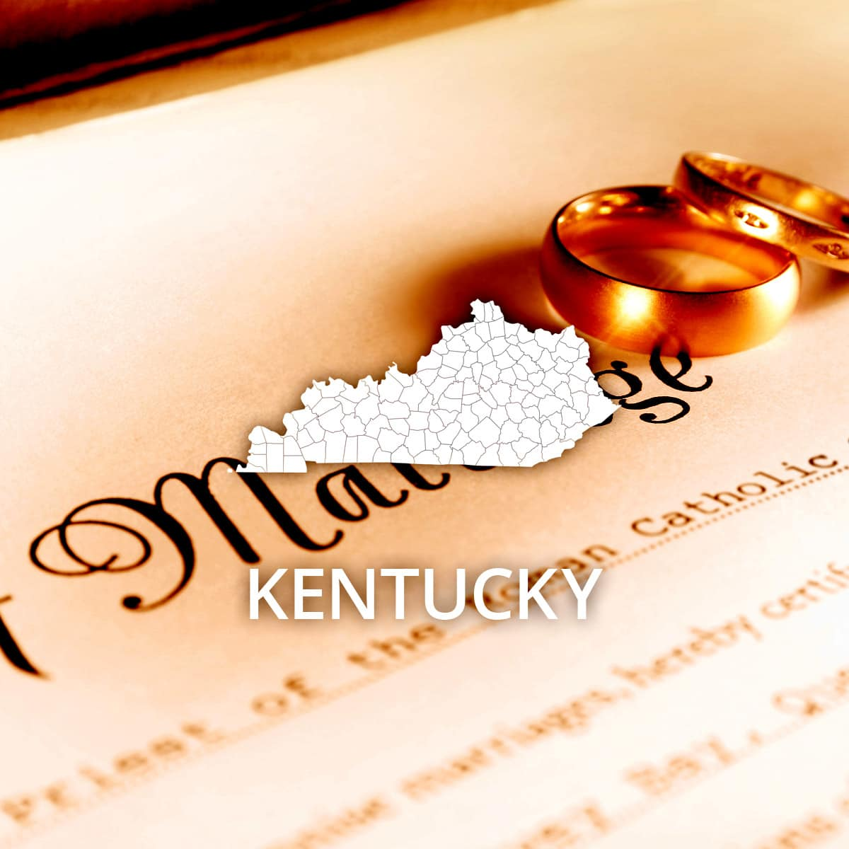 Where to Obtain a Kentucky Marriage Certificate