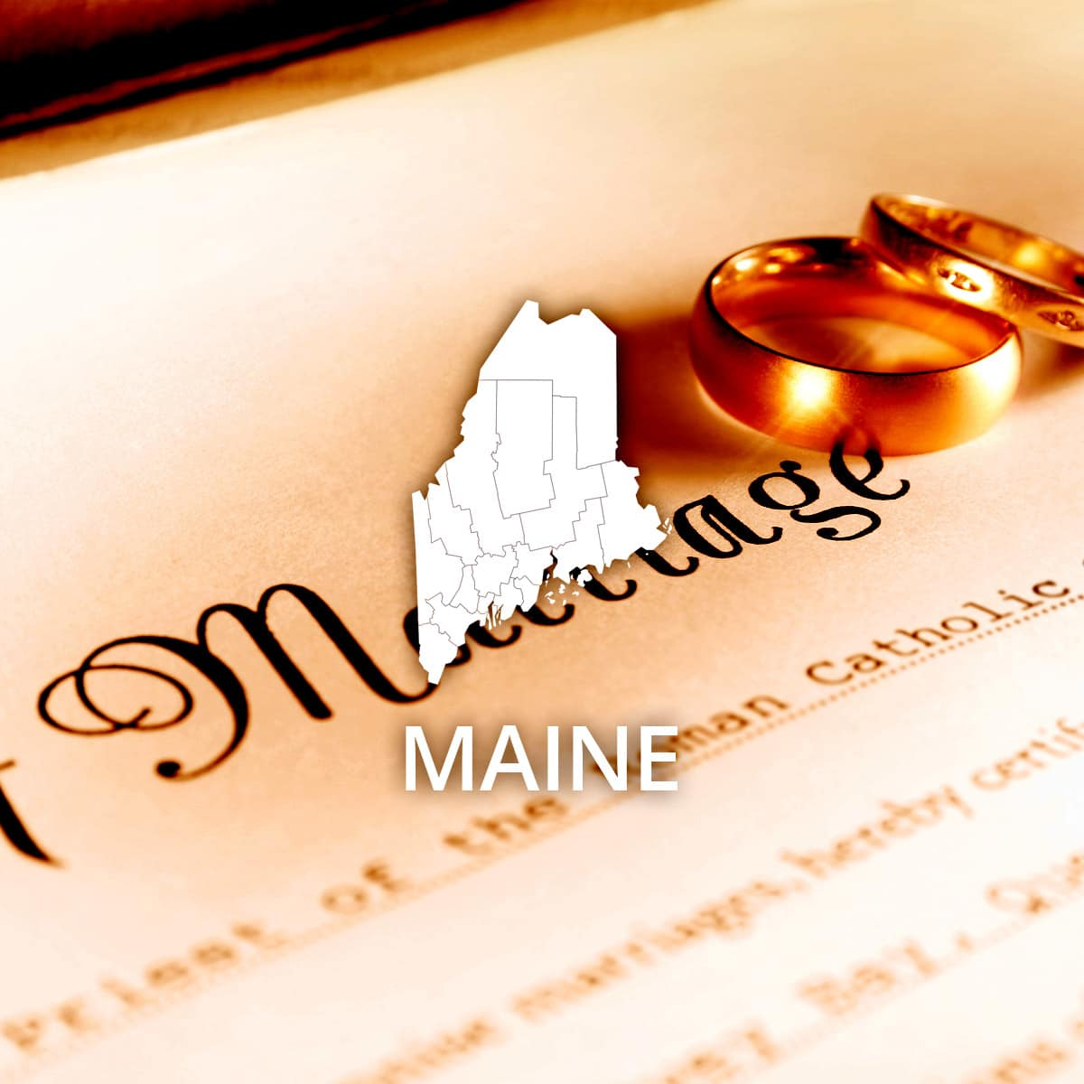 Where to Obtain a Maine Marriage Certificate