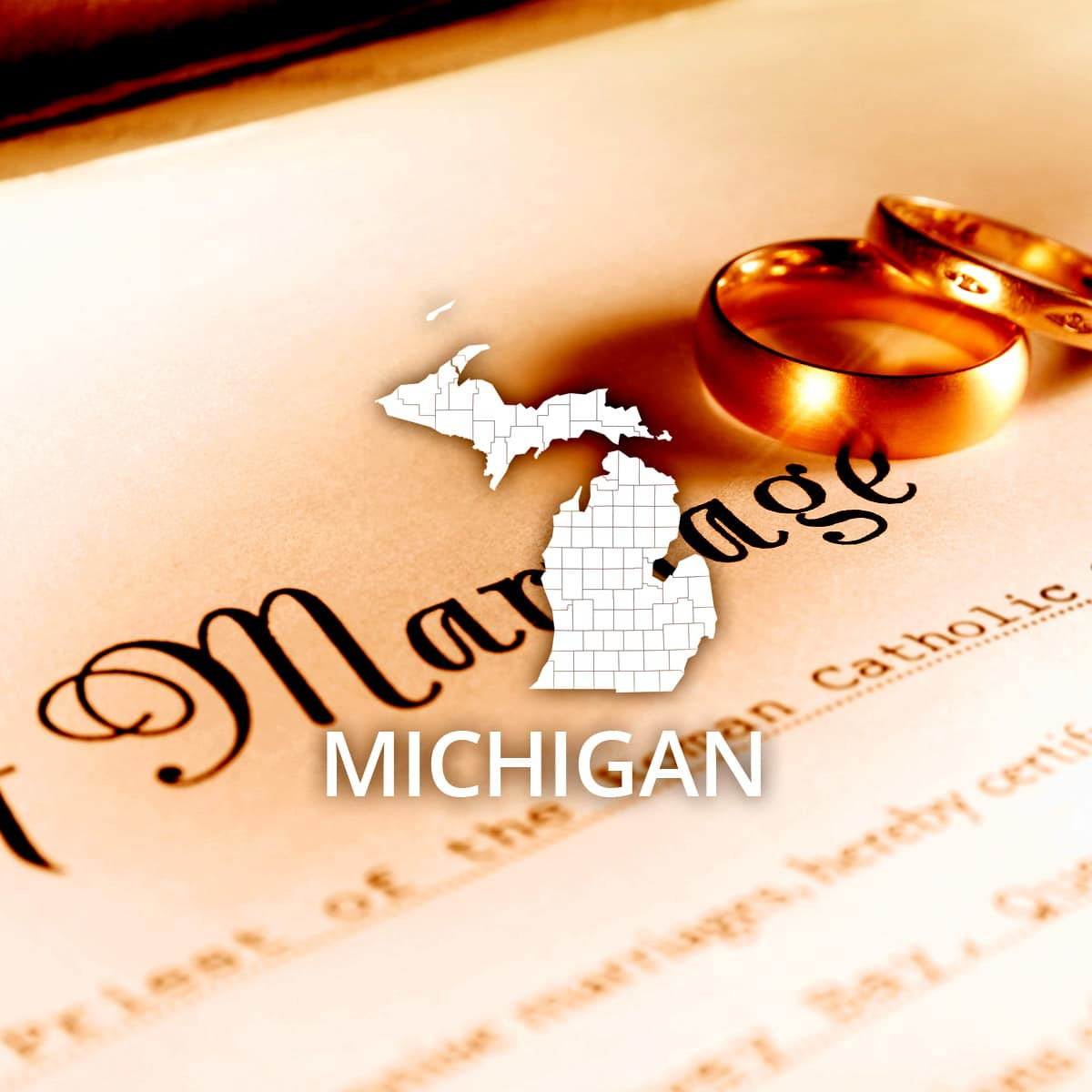 Where to Obtain a Michigan Marriage Certificate