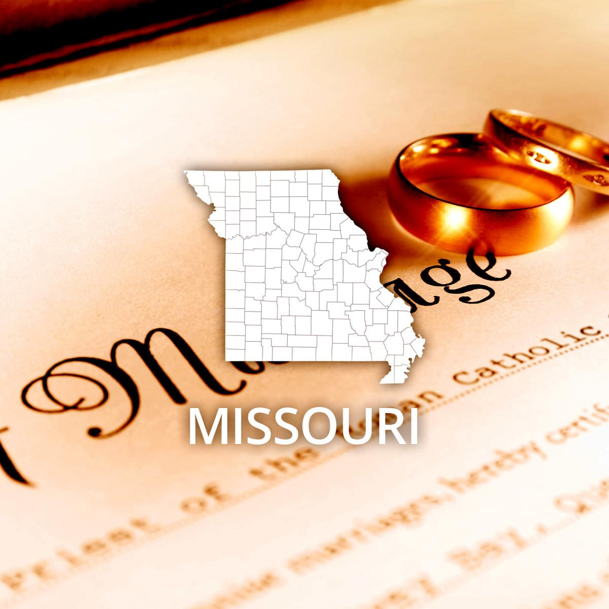 Where to Obtain a Missouri Marriage Certificate
