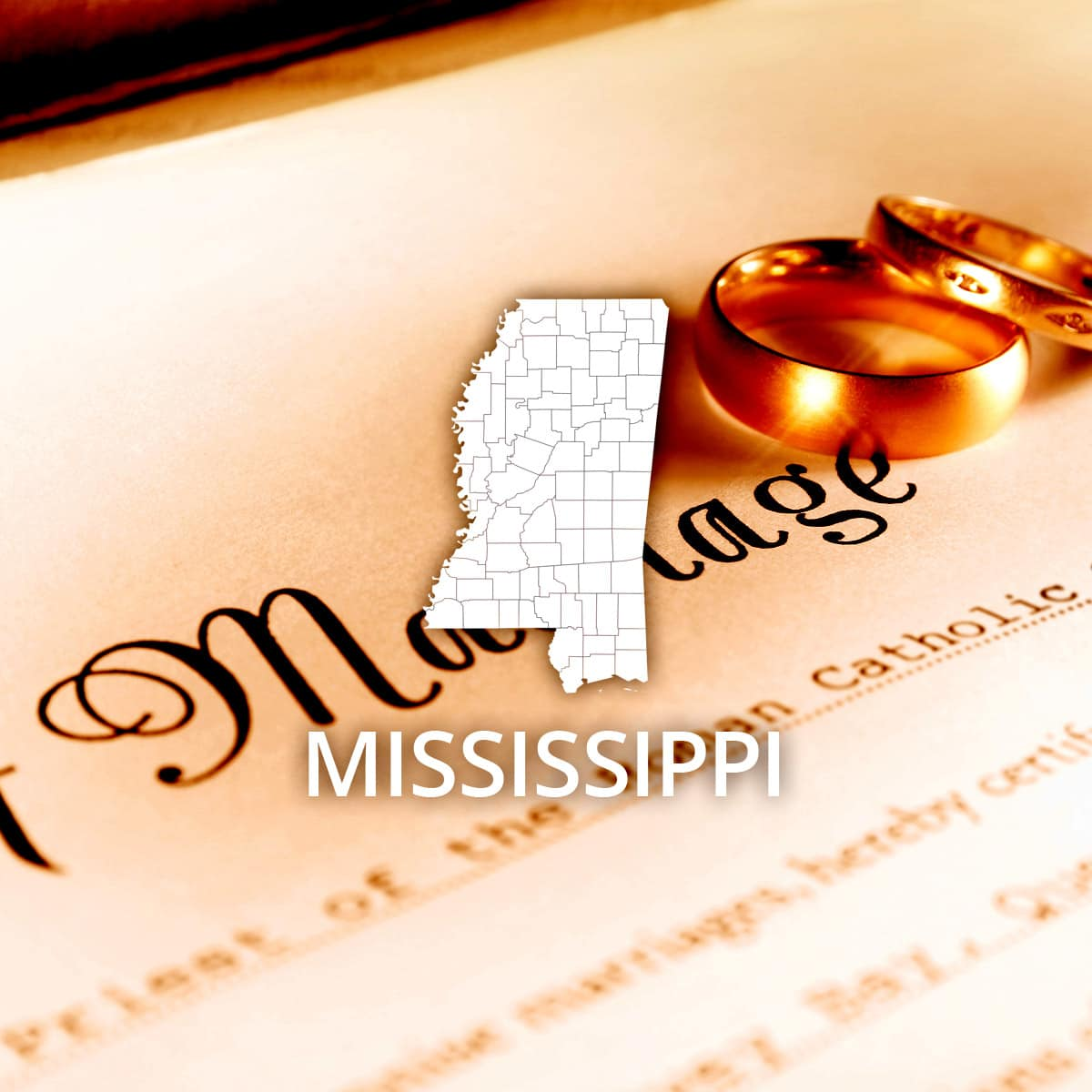 Where to Obtain a Mississippi Marriage Certificate