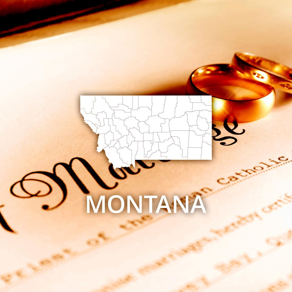 Where to Obtain a Montana Marriage Certificate
