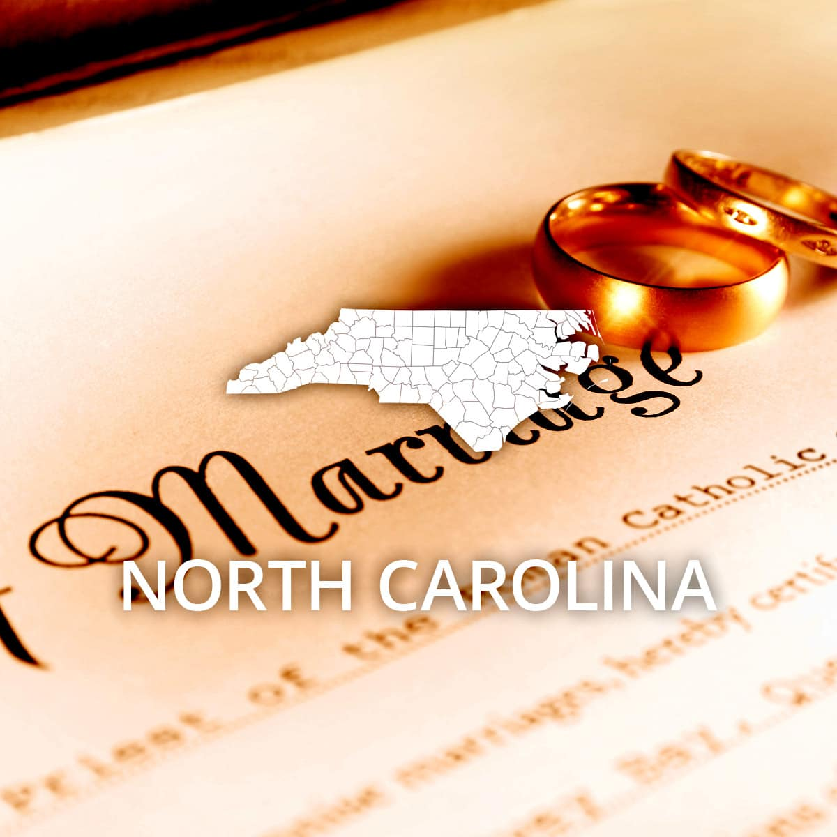 Where To Obtain A North Carolina Marriage Certificate