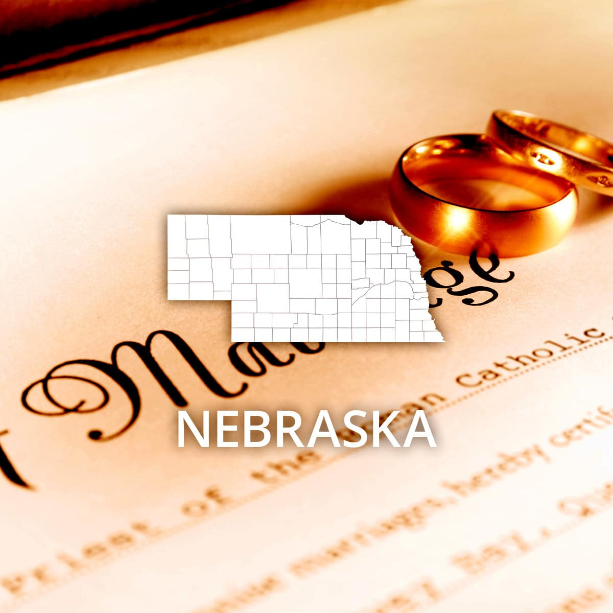 Where to Obtain a Nebraska Marriage Certificate