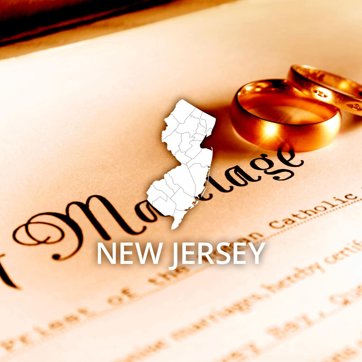 Where to Obtain a New Jersey Marriage Certificate