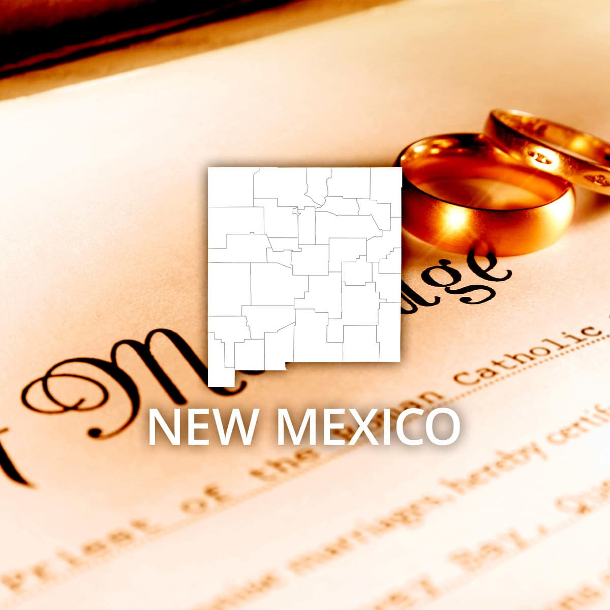 Where to Obtain a New Mexico Marriage Certificate