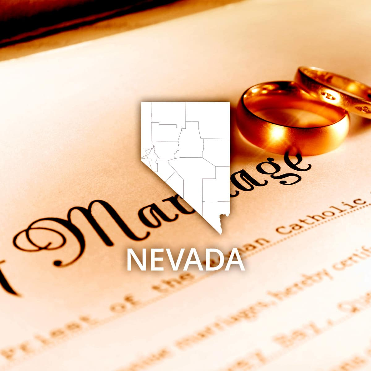 Where to Obtain a Nevada Marriage Certificate