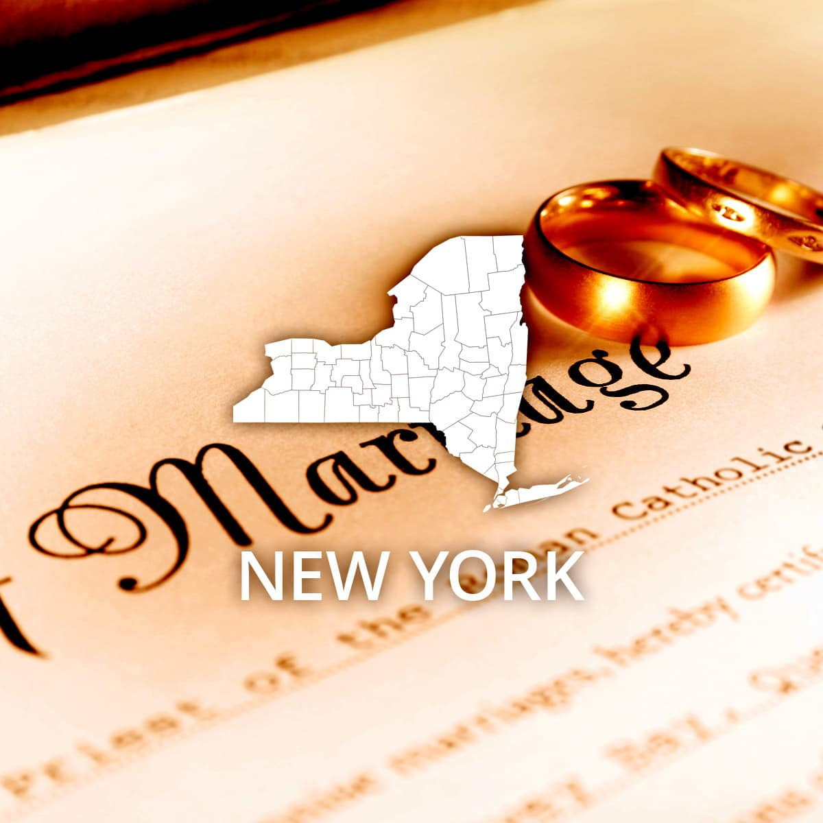 Where to Obtain a New York Marriage Certificate